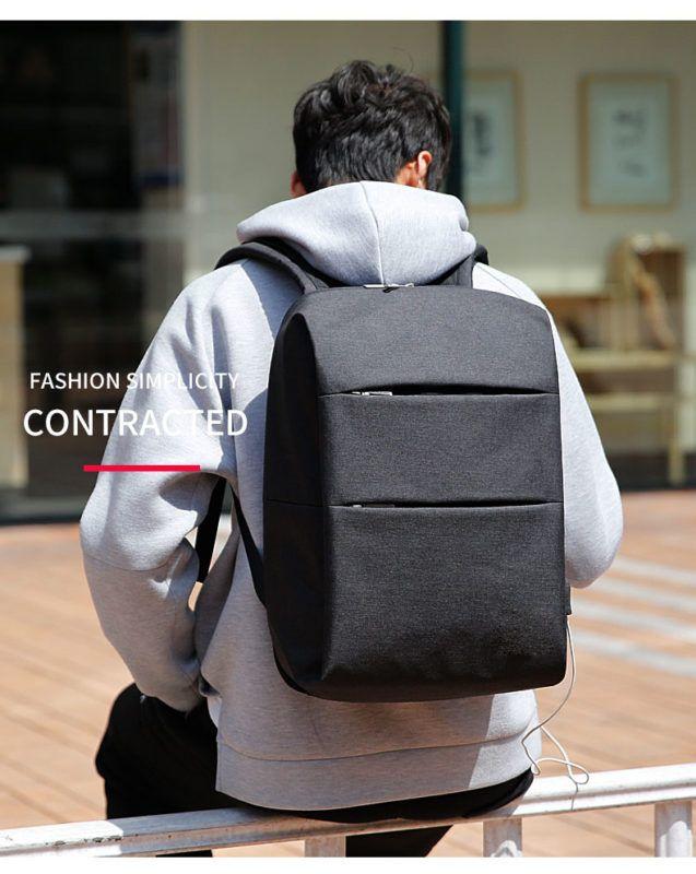 ModernistLook EX Series Water Resistant Backpack with USB Charging ...