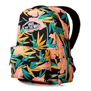 Vans Backpacks - Vans Realm Backpack - Black Tropical