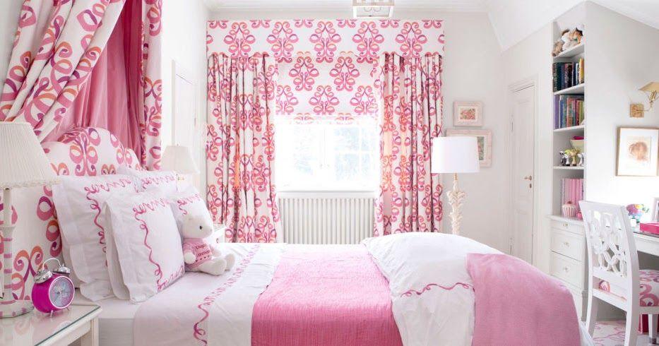 60 Desain Interior Kamar Tidur Warna Pink Untuk Perempuan Cat
