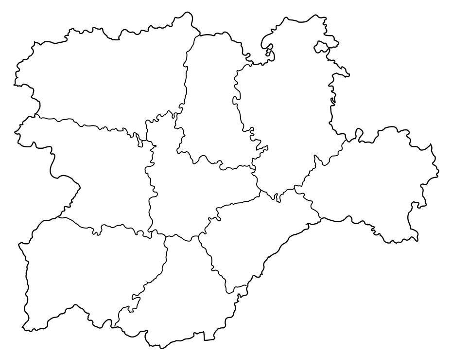 mapa castilla y leon fisico   Buscar con Google | 1º ESO: CIENCIAS