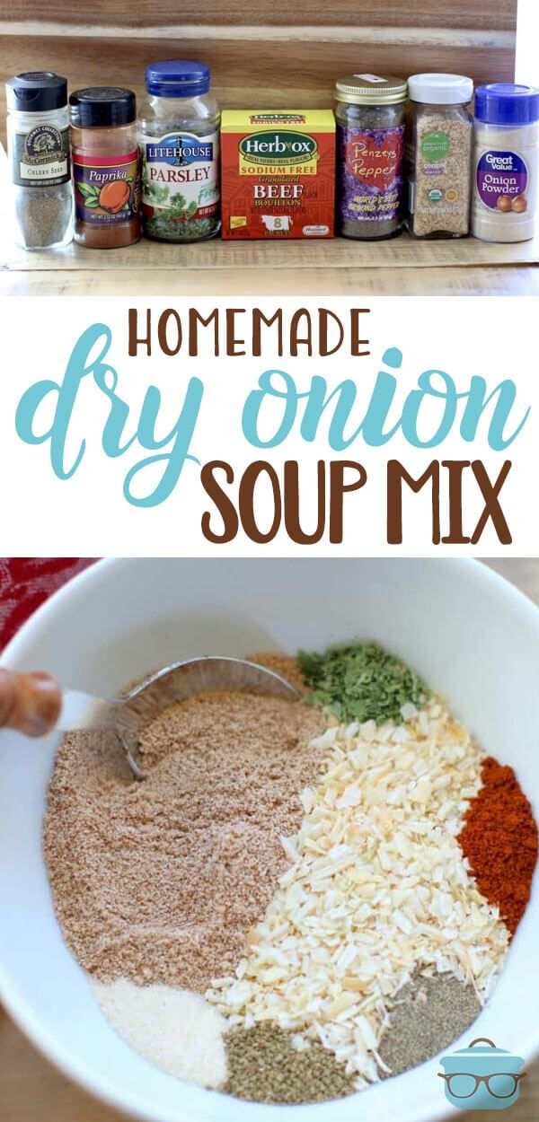 HOMEMADE DRY ONION SOUP MIX | The Country Cook