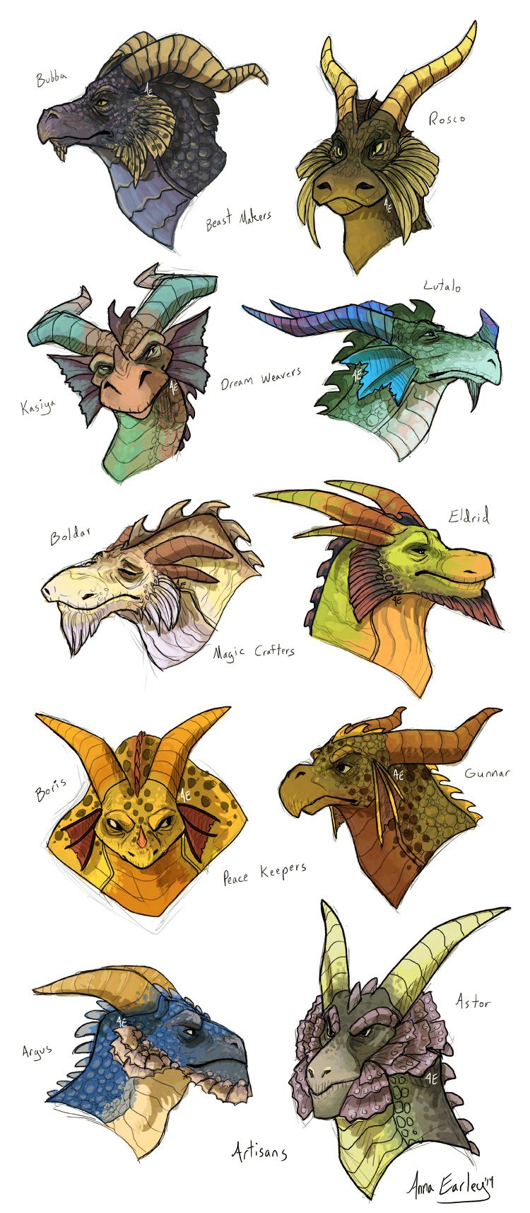 Spyro Dragons by Turtle-Arts.deviantart.com on @DeviantArt ...