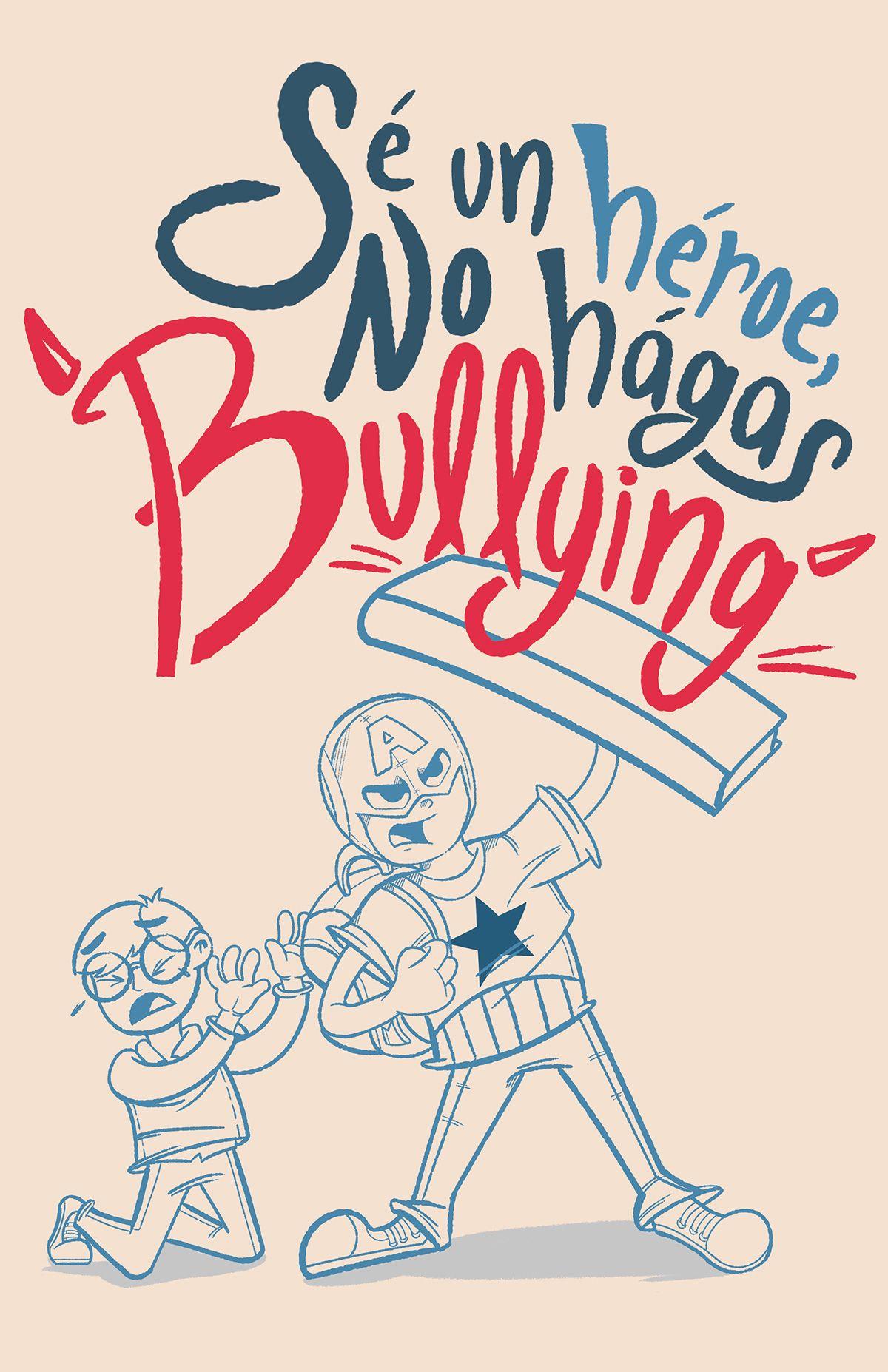 Resultado De Imagen Para Afiches Contra El Bullying Escolar Bullying