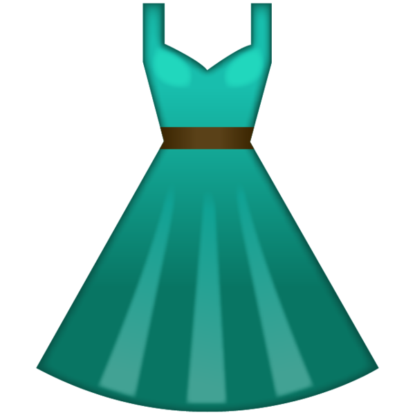 Green Dress Emoji Green Dress Emoji Dresses