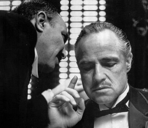 Social Media Advisor: listen to him or sleep with the fishes. Marketing Expert: making offers you can't refuse.