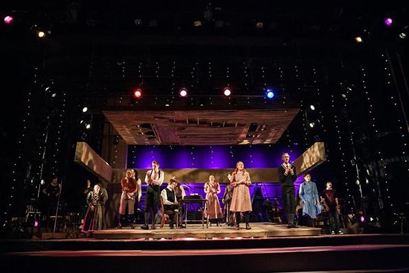 Spring Awakening. Set design by Jason Sherwood.