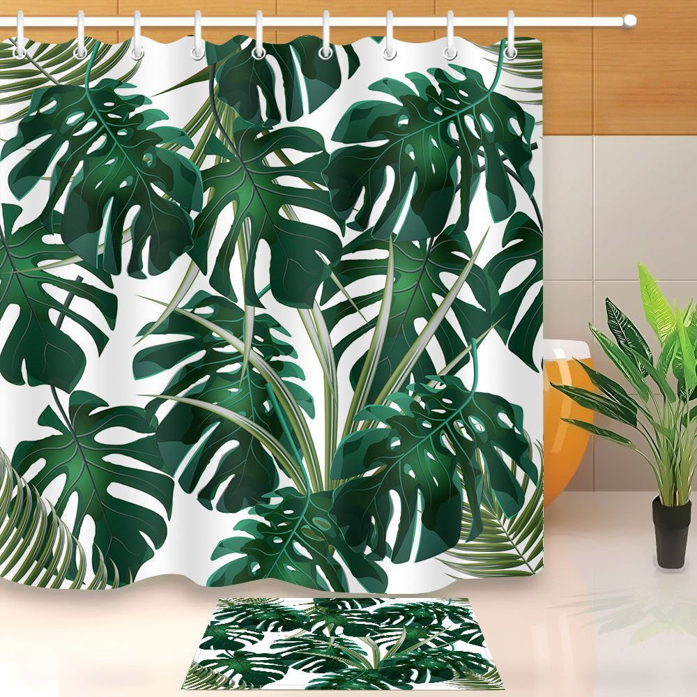 9.29 Jungle Green Thickets Of Tropical Palm Leaves