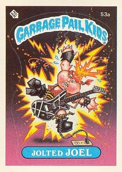 Garbage Pail Kids Series 2 1985 53b Live Mike Garbage Pail Kids Garbage Pail Kids Cards Garbage