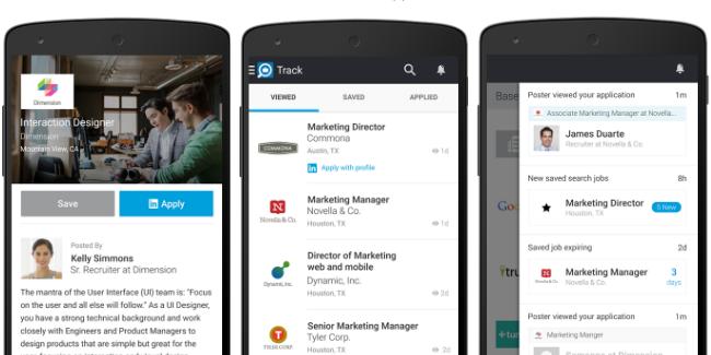 Linkedin Job Search pour vous aider dans la recherche d