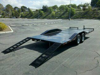 20 Heavy Duty Vehicle Hauler Is Ready For Rent Or For Sale Carries