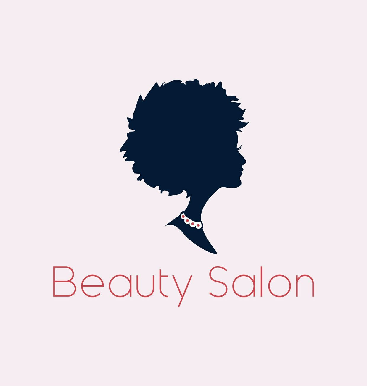 Beauty salon or spa logo in vector format and high res jpg beauty salon or spa logo in vector format of a beautiful womans profile m4hsunfo