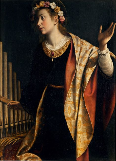 Artemisia Gentileschi, Self Portrait As A Female Martyr