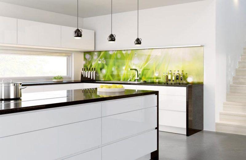 küche glasrückwand modern | Küche | Glasrückwand, Glasrückwand küche ...