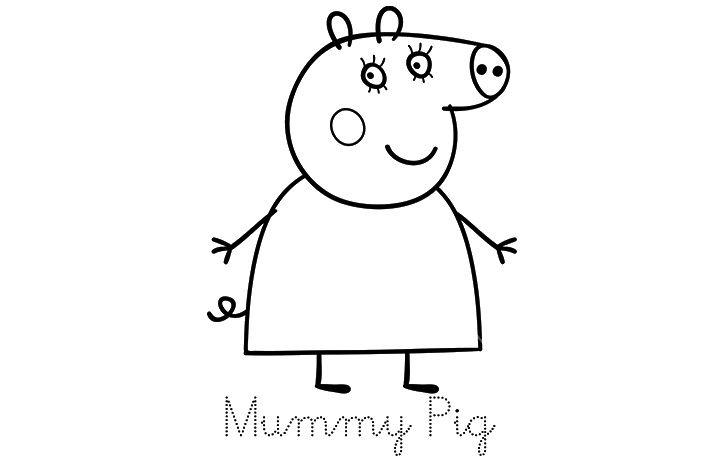 Top 35 Free Printable Peppa Pig