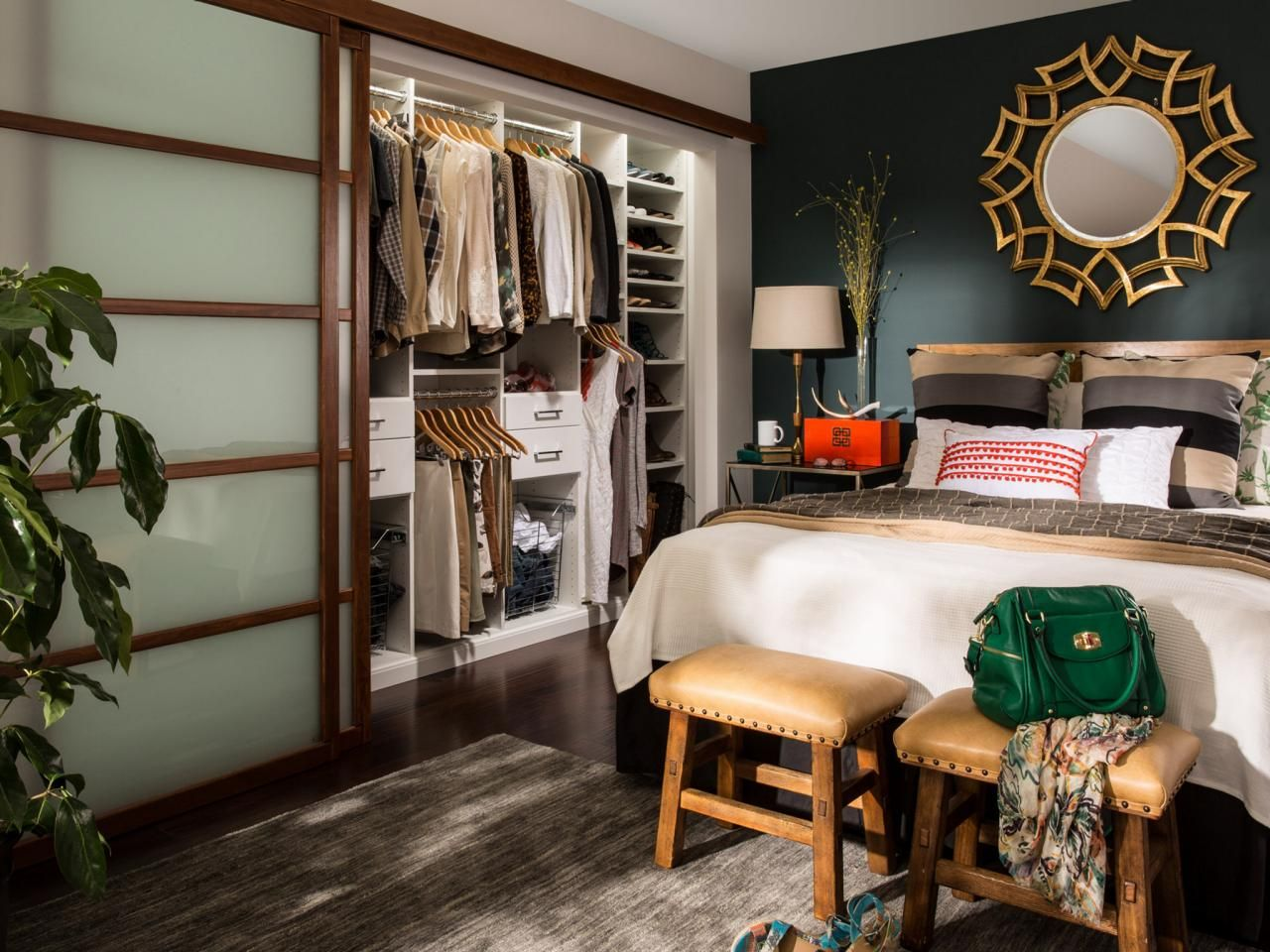 Closet Storage Containers Home Remodeling