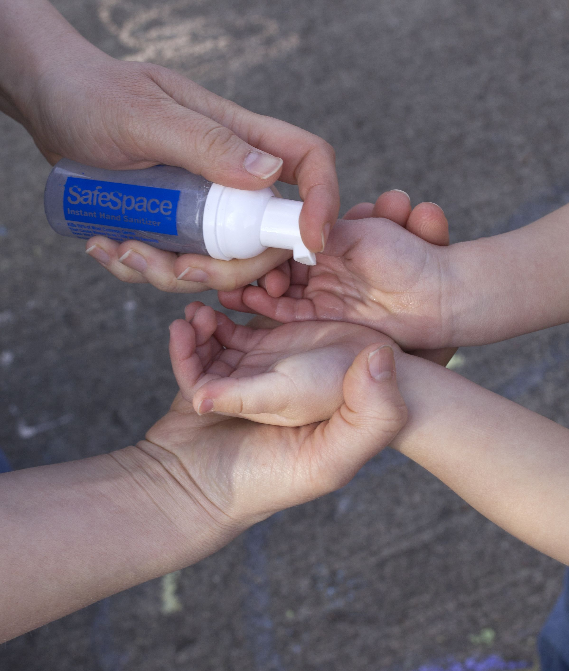 The Safespace Alcohol Free Instant Hand Sanitizer Formula