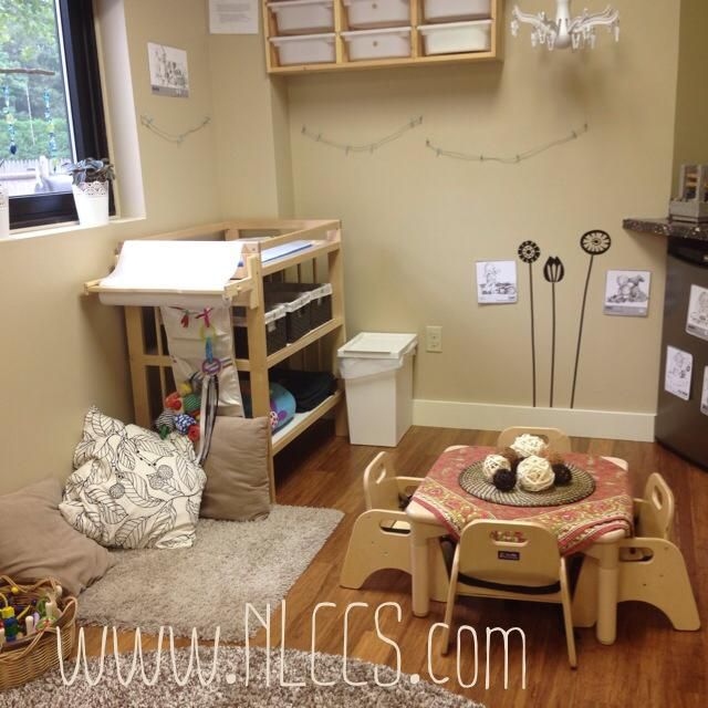 Natural Classroom Design ~ Infant space at natural learning community children s