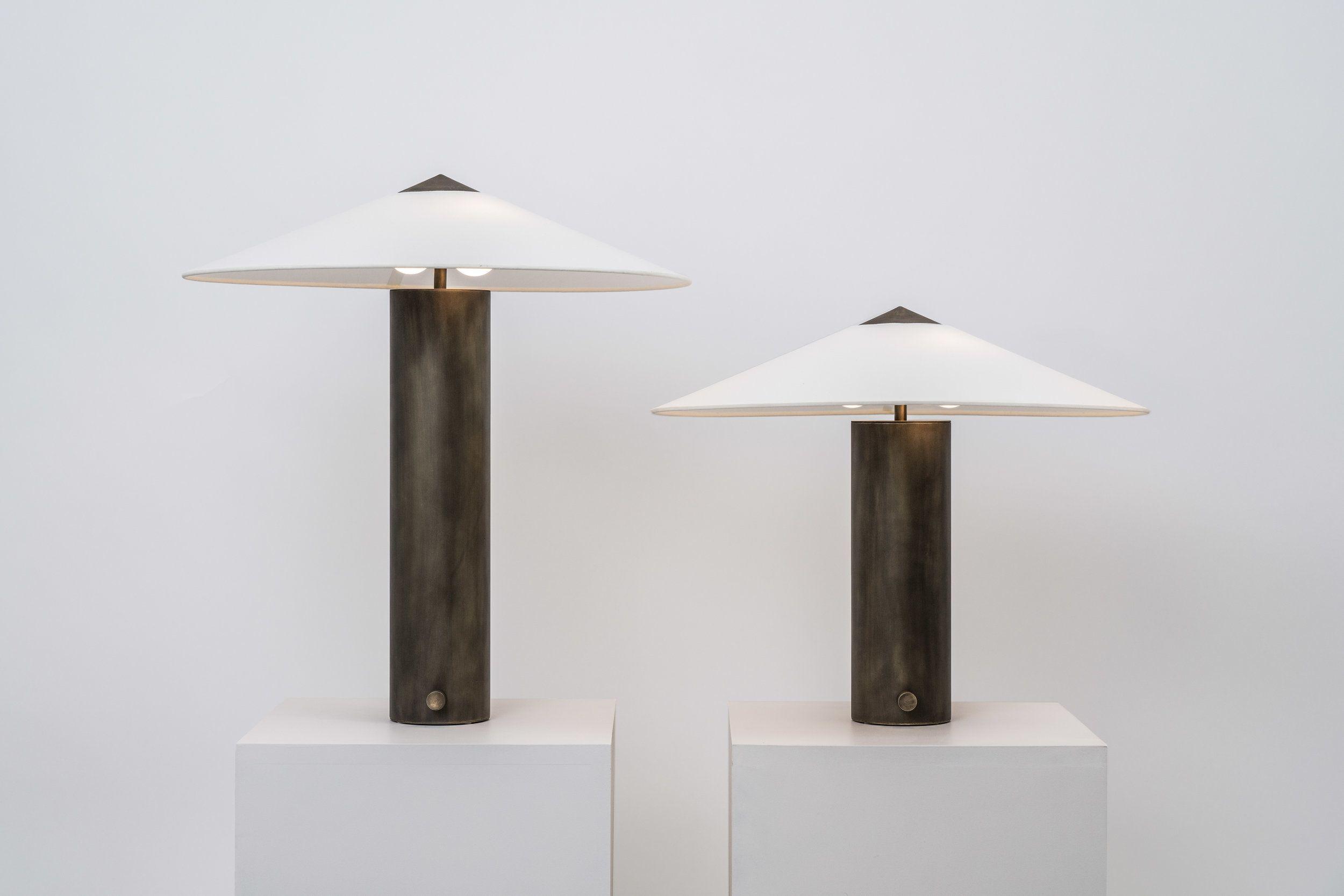 Yama Table Lamp Small Coil Drift Table Lamp Lamp Modern
