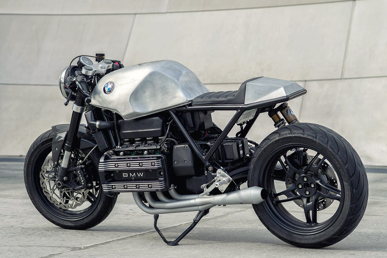 killer k mike flores 39 bmw k100 cafe racer motorcycling. Black Bedroom Furniture Sets. Home Design Ideas