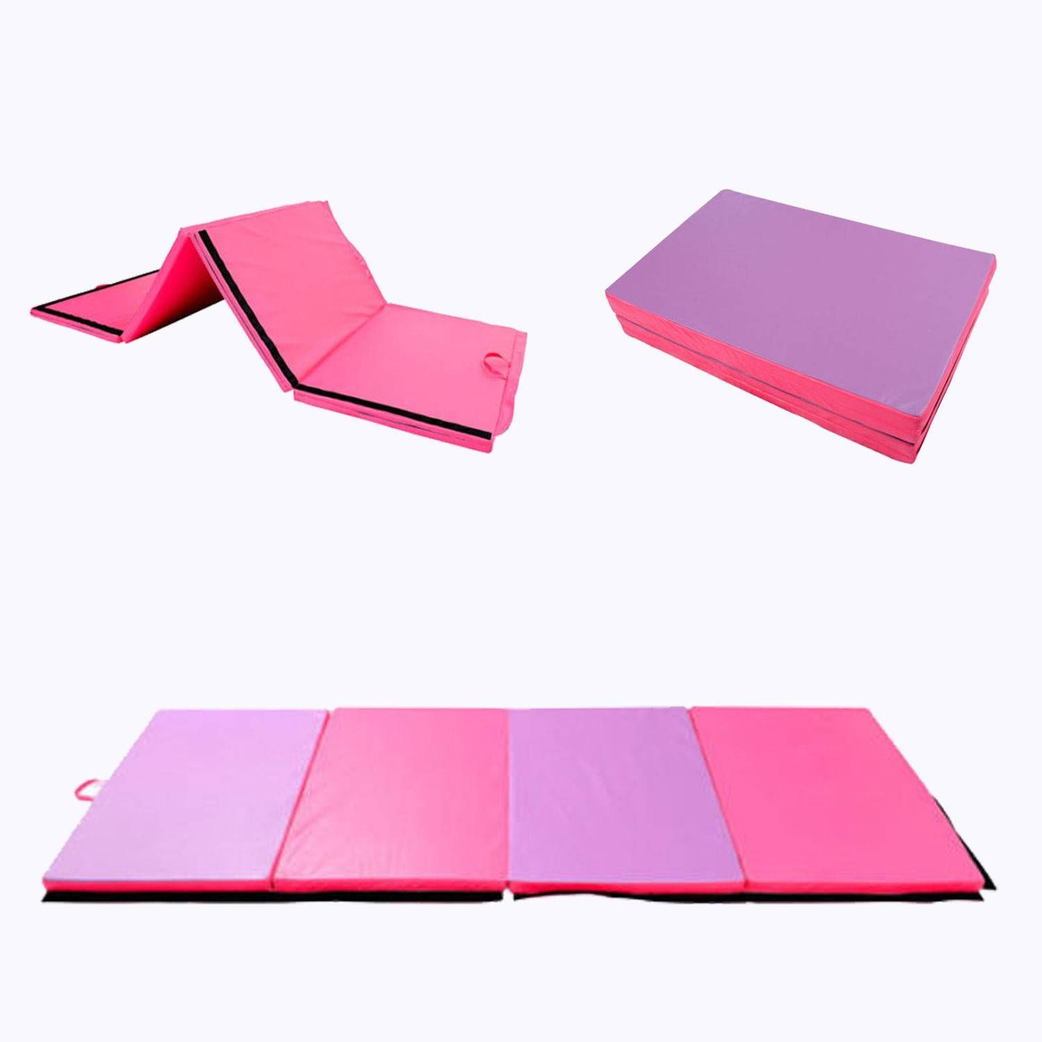stretching pin nice folding mats four train yoga mat gymnastics diy aerobics thick