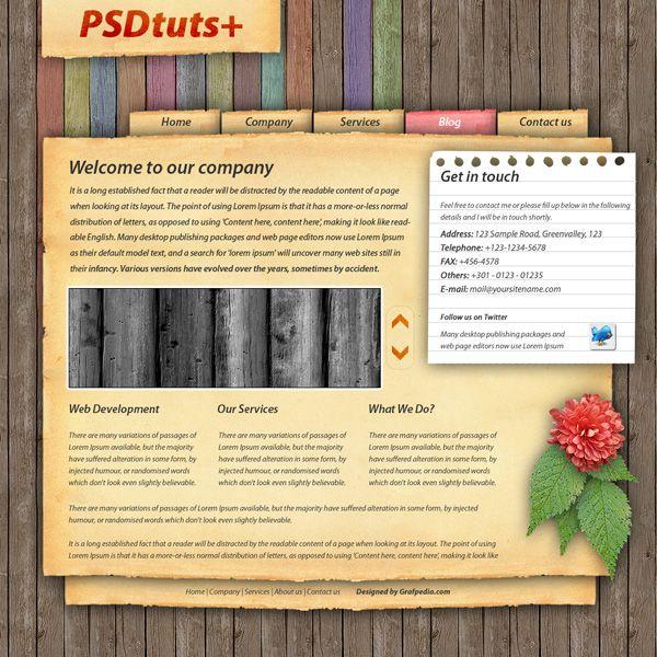 Love the rainbow wooden planks used Websites Pinterest