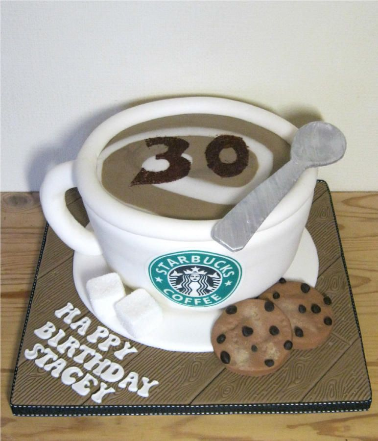 Starbucks+Coffee+Cup+Cake #starbuckscake