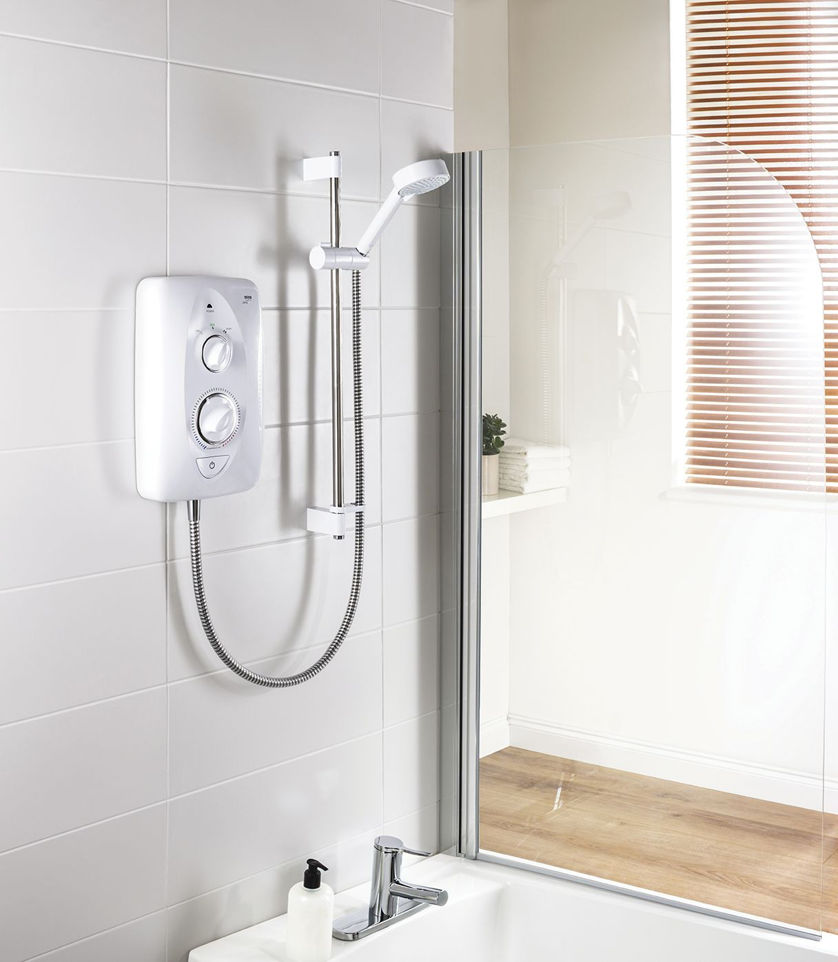 the new contemporary affordable mira jump multi fit electric mira electric showers incorporate exclusive innovations such as the patented clearscale technology proven to reduce limescale build up