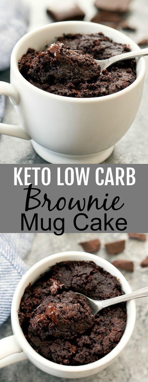 Keto Brownie Mug Cake