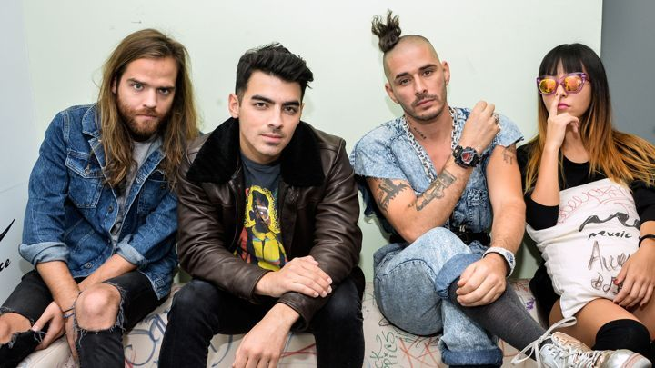Joe Jonas leads this extremely fun group DNCE with their tune 'Cake by the Ocean' that is suddenly everywhere you turn and making people dance every single time. Check out #WeddingWisdom for our latest post about this song and check out past posts as well! http://dougwintersmusic.com/blog/cake-ocean-dnce/