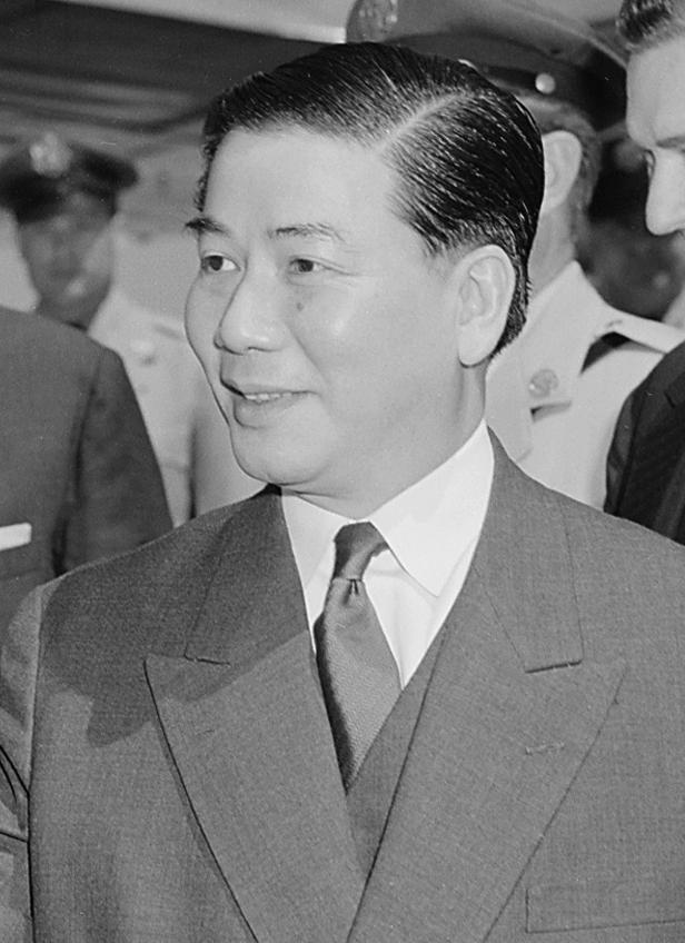 President Ngo Dinh Diem Of South Vietnam Saw The Predominantly