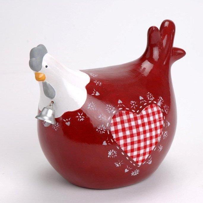 D co cuisine poule d co poule rouge et vaisselle cuisine - Cuisiner une poule faisane ...