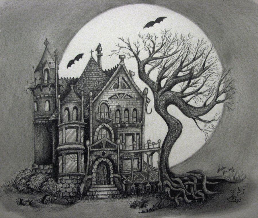 Spooky House By Handie On DeviantART