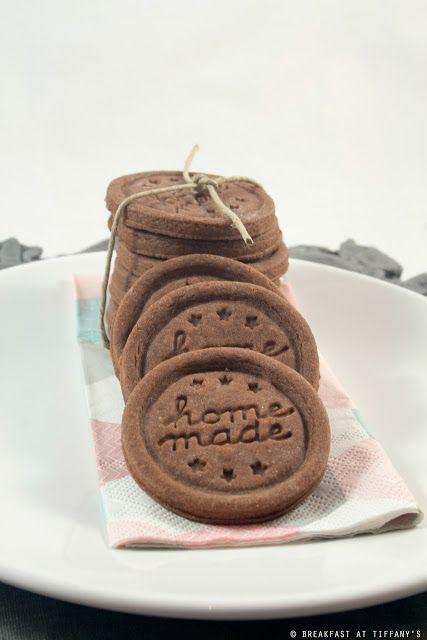 Breakfast at Tiffany's: Biscottini di frolla al cacao