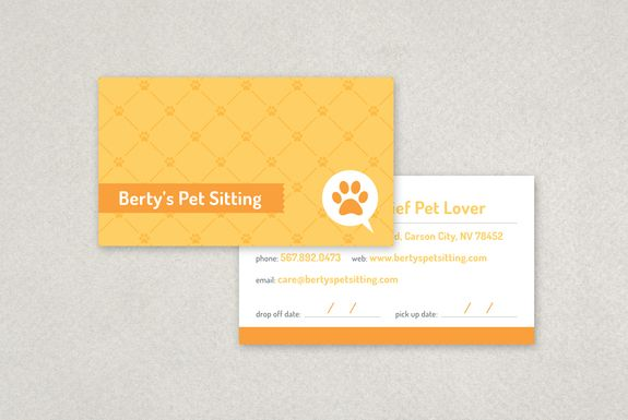 Pet Sitting Business Card Template Sample Inkd Pet Sitting Business Cards Pet Sitting Business Business Card Template Design