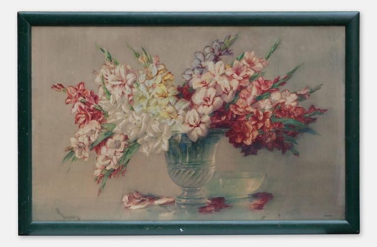 Isidore Rosenstock Still Life With Flowers By Isidor Rosenstock