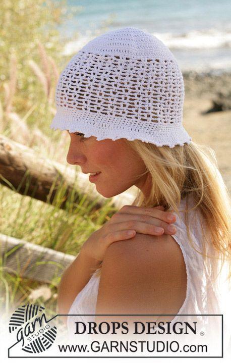 Free Pattern | Sommer | Pinterest | Mütze, Mütze häkeln und Handschuh