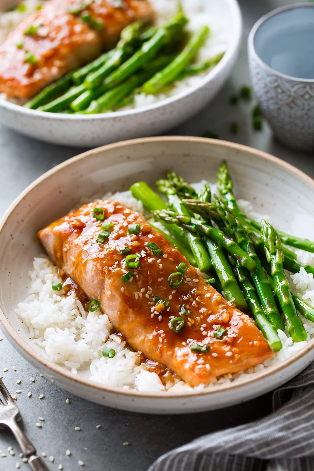 Teriyaki Salmon Recipe - Cooking Classy