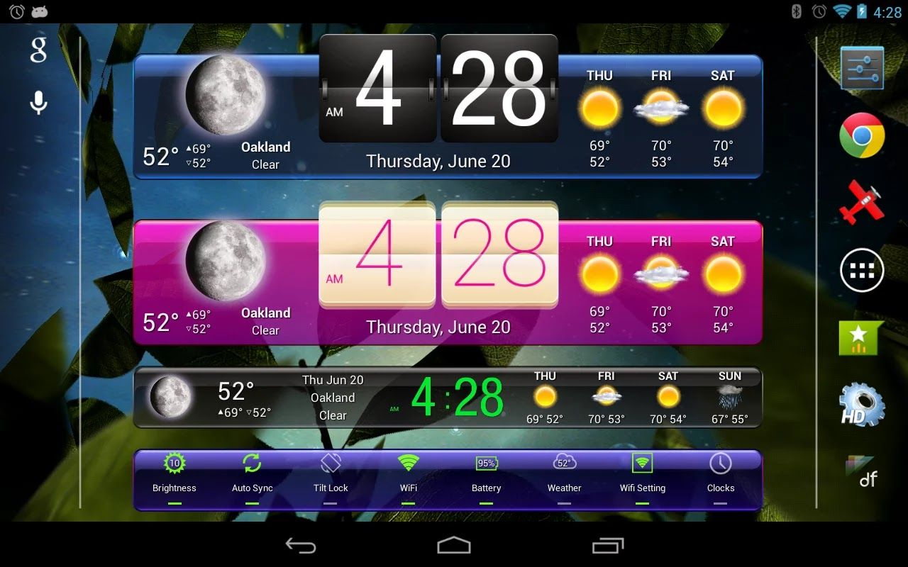 Widgets App for Android
