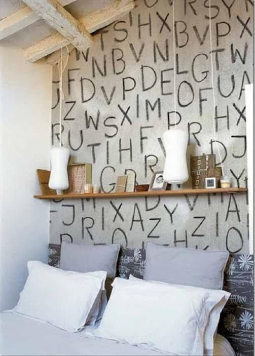 Letras En La Pared Decoracion