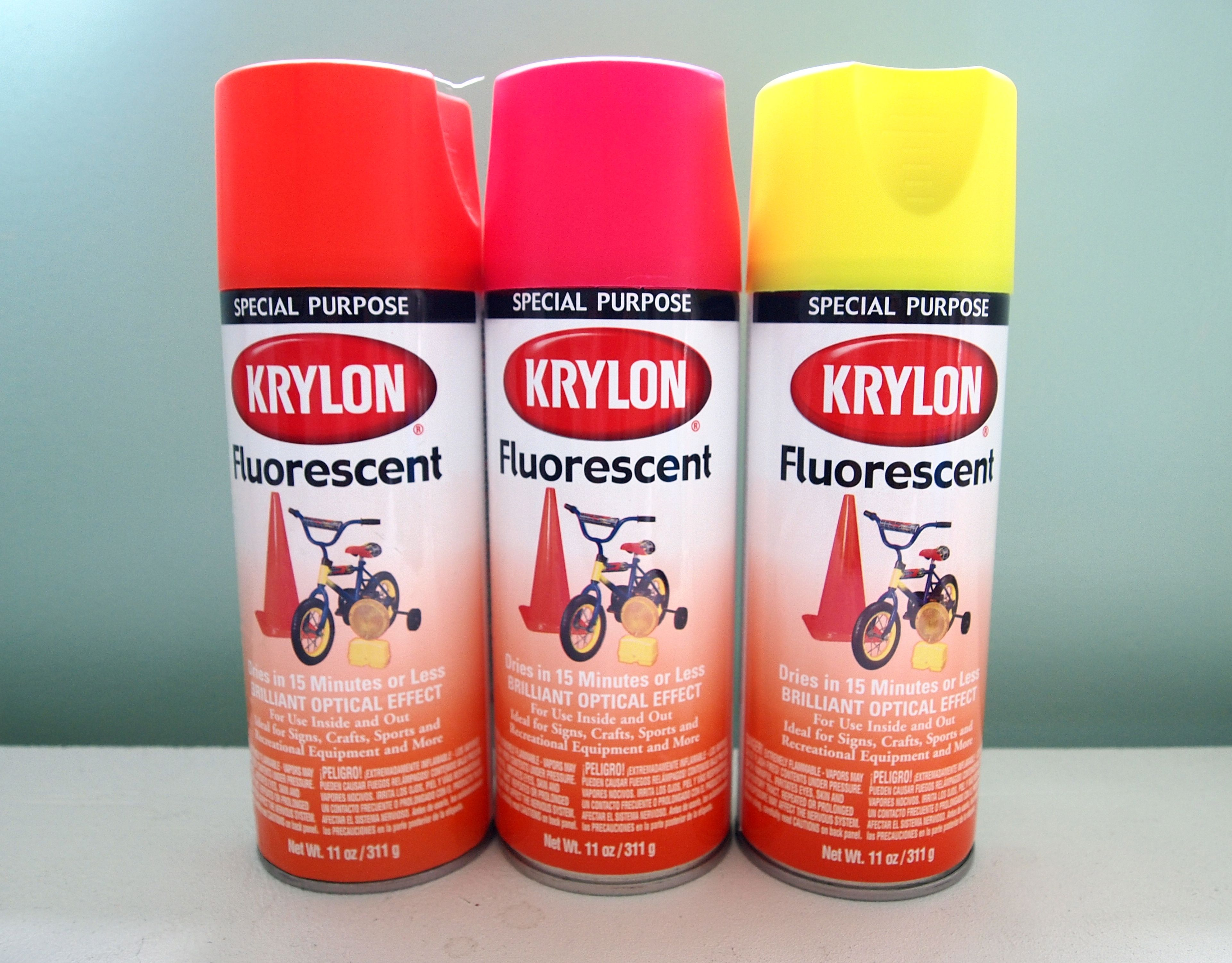 Attractive Coral Pink Spray Paint Part - 8: Neon Spray Paint, For Those Thrift-store Finds, $5.39 At Amazon