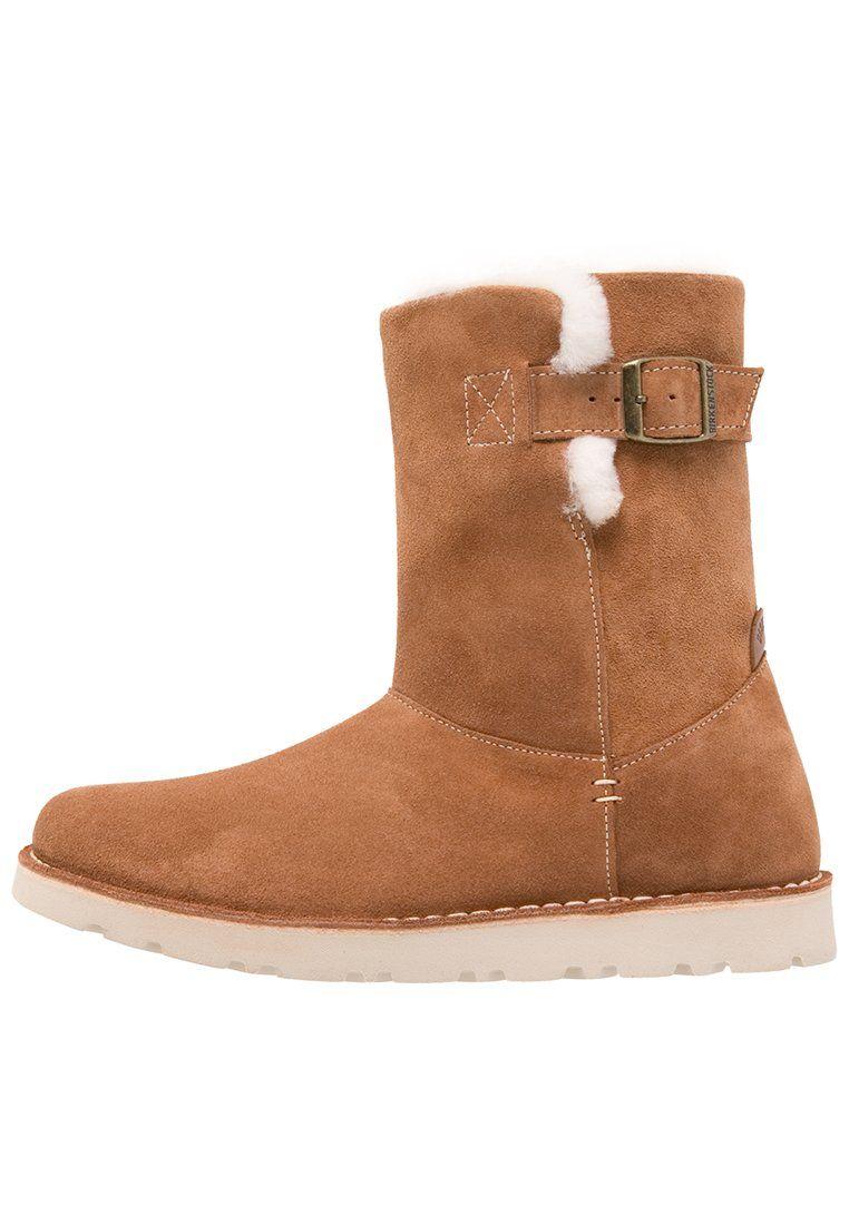 Birkenstock WESTFORD Korte laarzen nut, 169.95, http://kledingwinkel.nl/shop/dames/birkenstock-westford-korte-laarzen-nut/