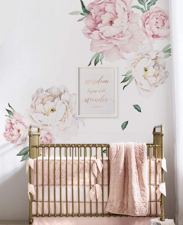 Nursery Inspiration Wallpaper Edition Floral Wall Sticker