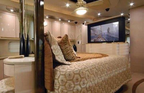 bedroom & bathroom caravan interior design   Caravans   Pinterest ...