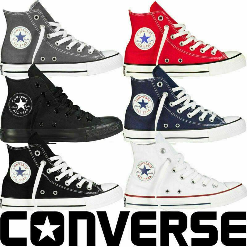 Converse Chuck Taylor All Star Hi Scarpe Uomo Comode