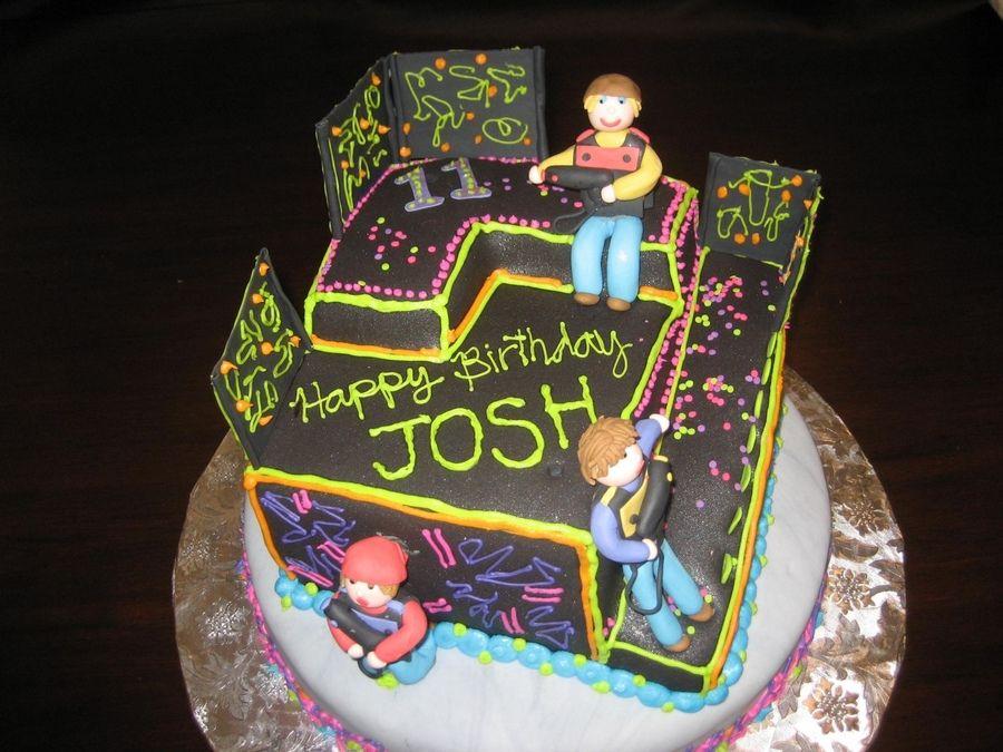 lazer tag cakes Laser Tag Cake Ideas CakesCookies Pinterest