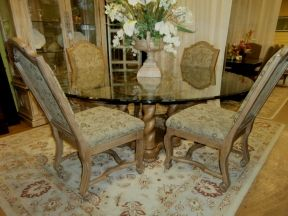 Collezione Europa Table Four Chairs Chair Dining Table
