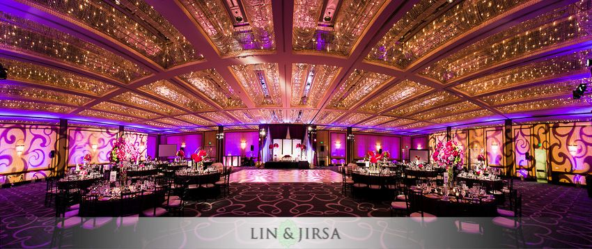 Hyatt Long Beach Wedding Reception Raajeev Elaine