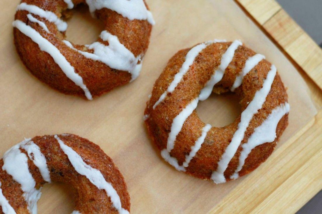 Carrot Cake Donuts Gluten And Grain Free Paleo Recipe Paleo