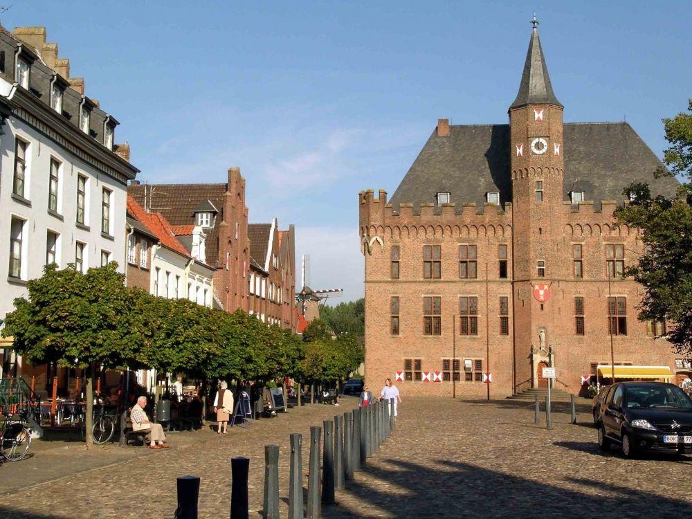 Hansestadt Kalkar Grieth Deutsche Landschaft Stadt Stadtebau