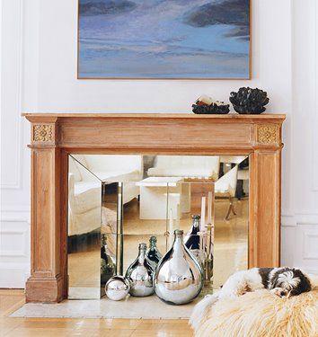 Decorating Non Working Fireplaces Design Indulgences Domino Mag
